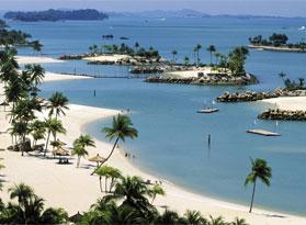 Пляжи в Сингапуре