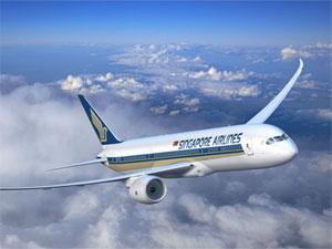 В Сингапур на самолете