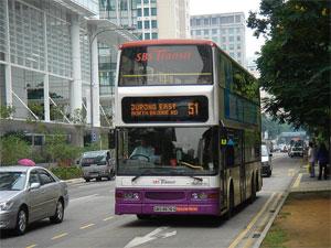 сингапурский автобус