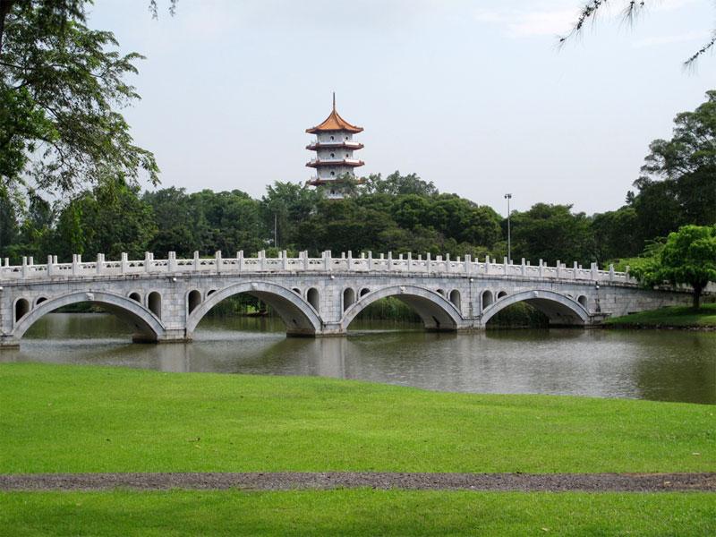 Китайский сад в Сингапуре
