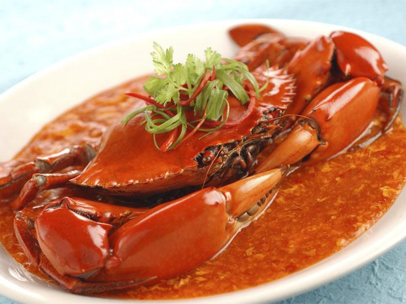 Чили-краб - главное кулинарное изобретение Сингапура