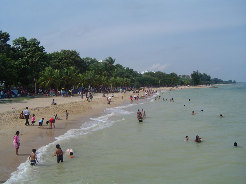 Пляж East Coast Park Beach