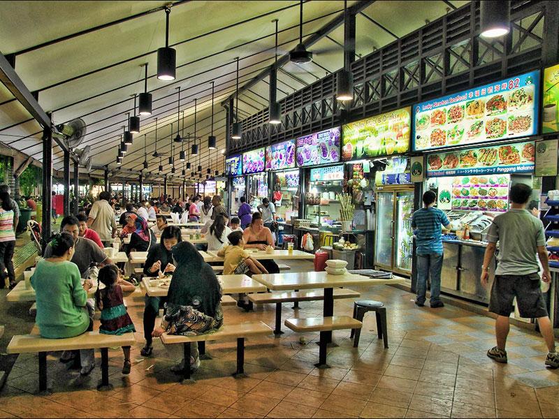 семейное кафе в Сингапуре