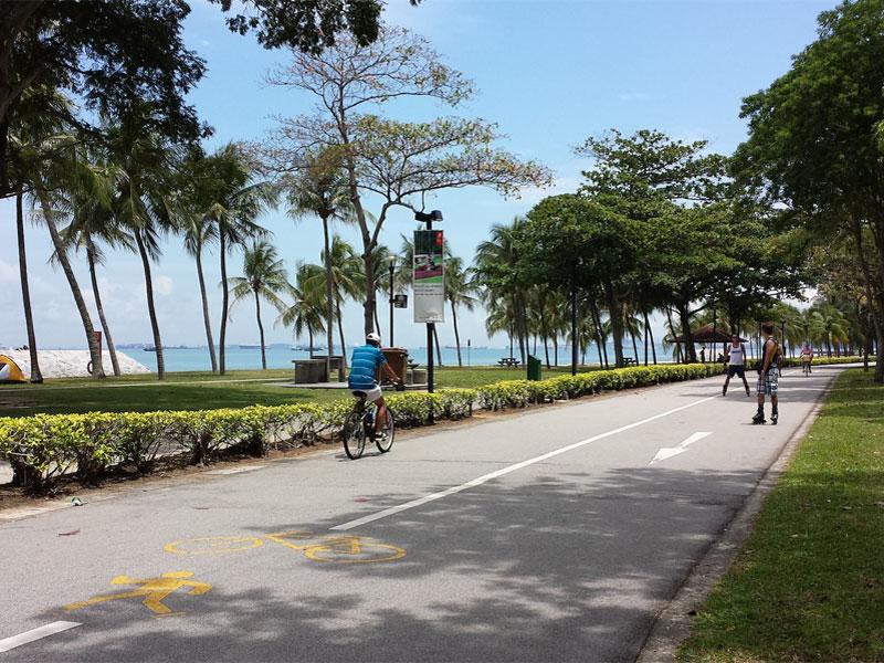 Парк Восточного побережья в Сингапуре