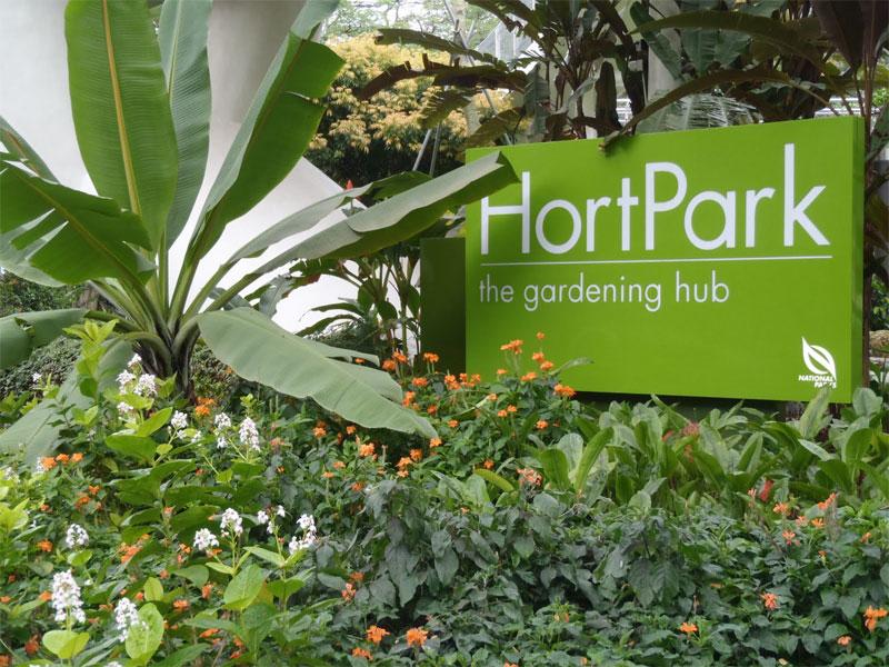 HortPark - это главный центр садоводства в Сингапуре