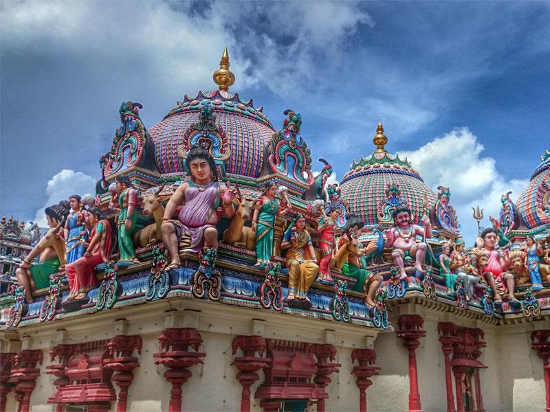 Маленькая Индия - это главное место сохранения индийской культуры в Сингапуре