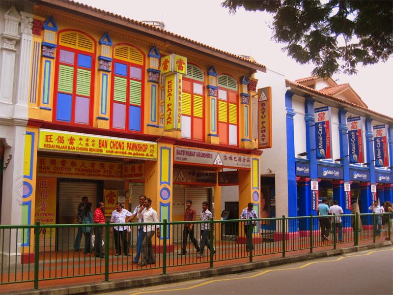 Квартал Маленькая Индия в Сингапуре