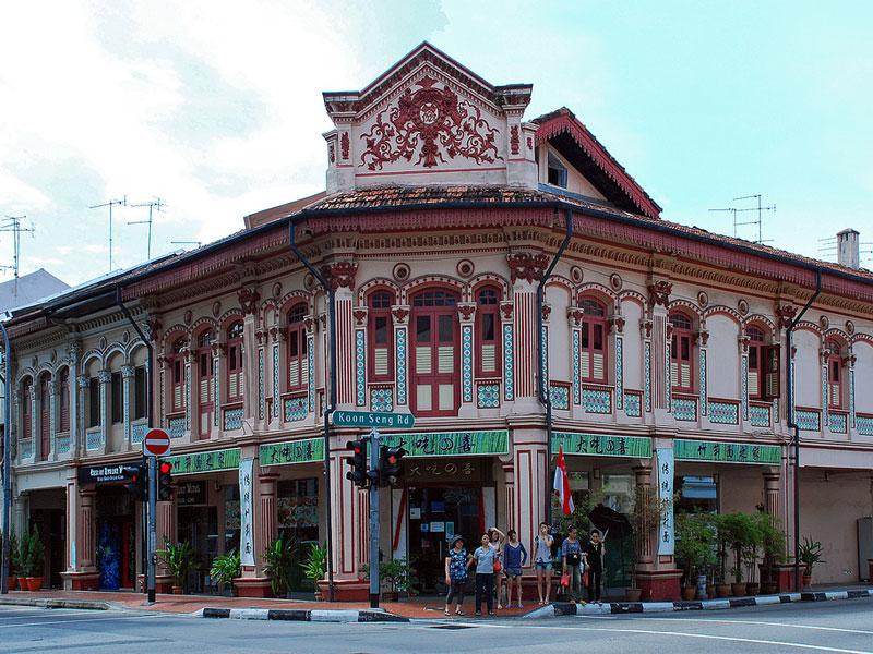 Катонг и Джу Чиат - это главное место сохранения перанаканской культуры в Сингапуре