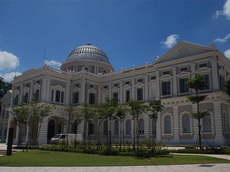 Национальный музей Сингапура - старейшая музейная экспозиция в стране
