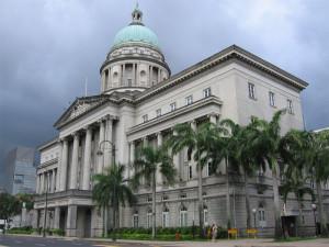 Старое здание Верховного суда Сингапура