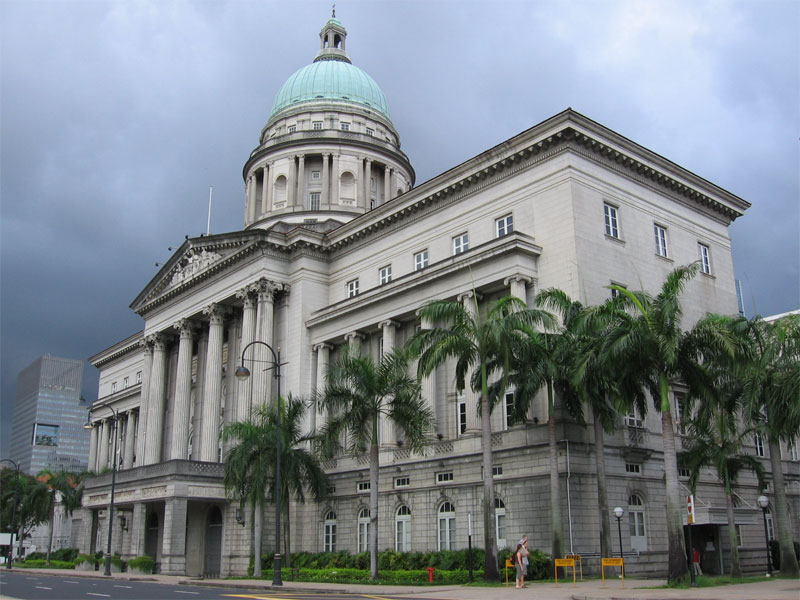 Величественное здание Верховного суда - самая известная работа архитектора Фрэнка Уорда