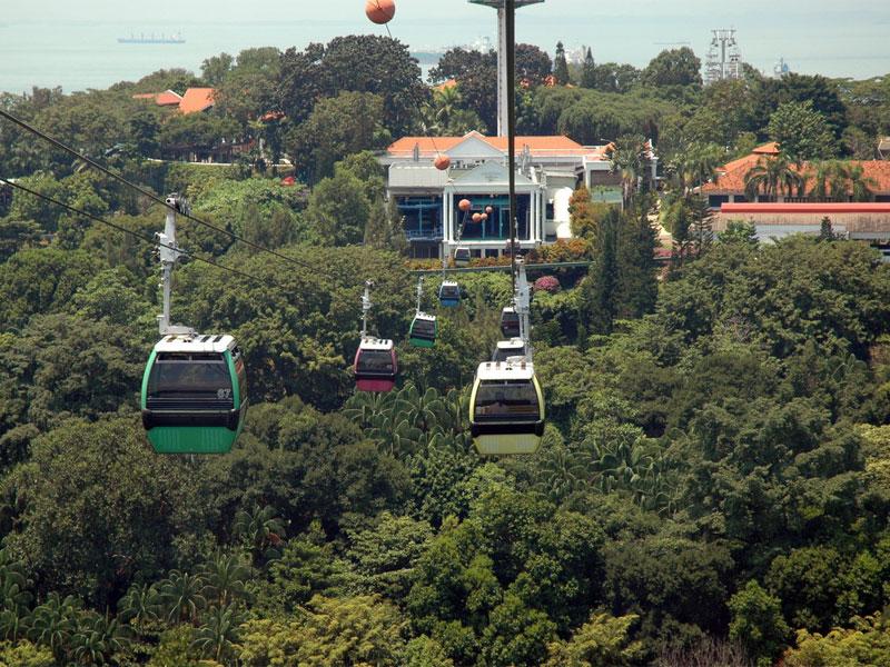Сингапурская канатная дорога