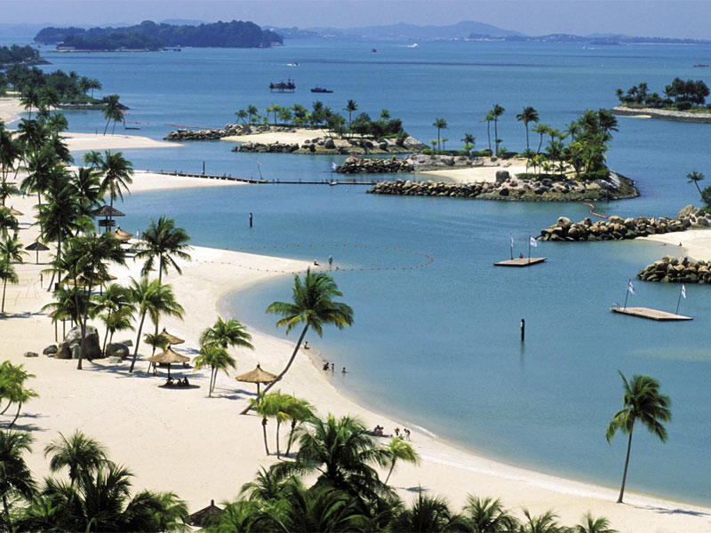 Пляж Siloso Beach