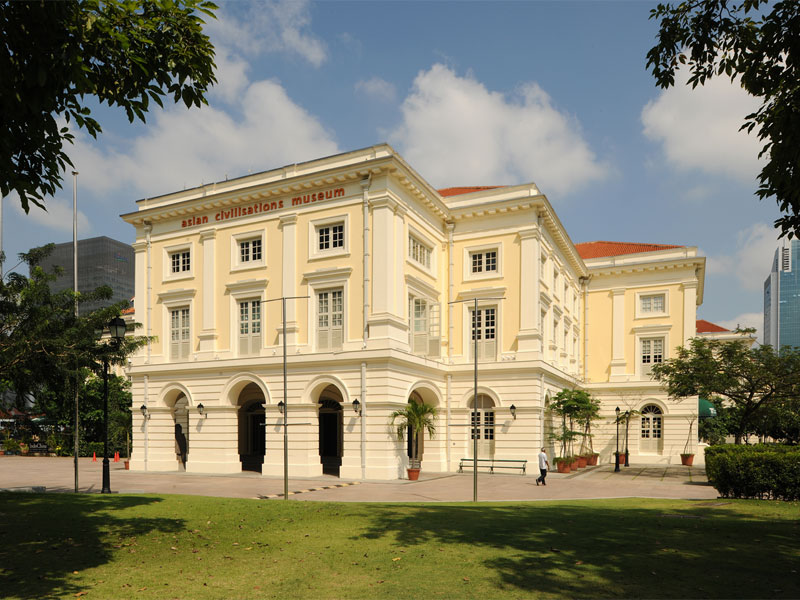 Музей азиатских цивилизаций рассказывает о национальных корнях Сингапура
