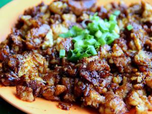 Жареный морковный пирог (чай тао квэй)