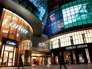 Магазины и торговые центры Сингапура