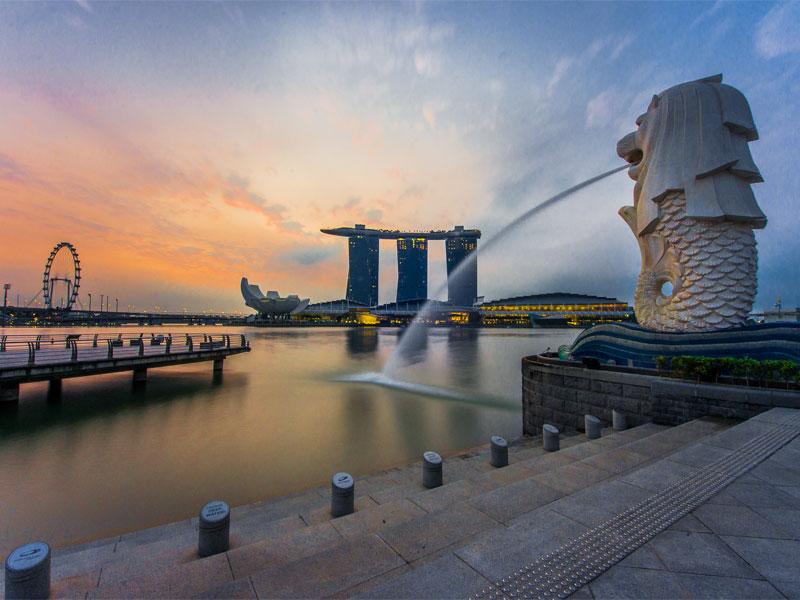 Парк Мерлион в Сингапуре