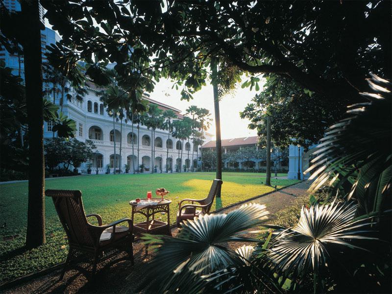 Отель Раффлз в Сингапуре