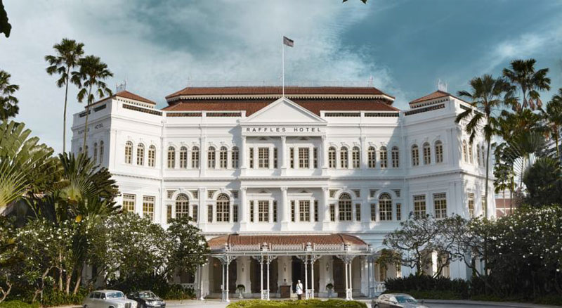 Отель Raffles Singapore