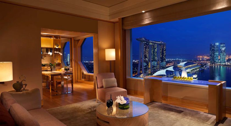Отель The Ritz-Carlton, Millenia Singapore