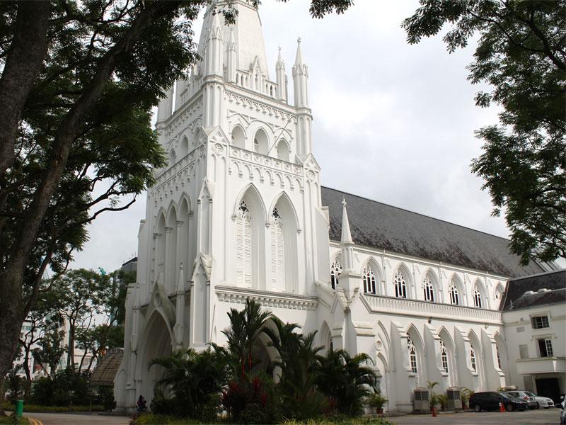 Собор Святого Андрея в Сингапуре
