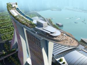Развлекательный комплекс Marina Bay Sands® SkyPark в Сингапуре