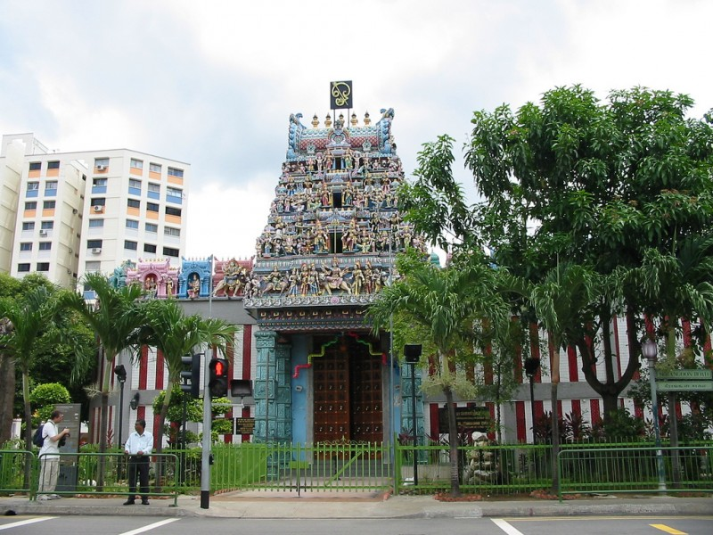 Sri Veeramakaliamman Temple - старейший храм на территории индийского квартала