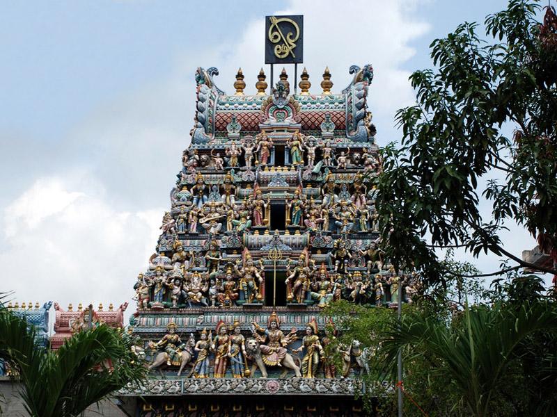 Храм Шри Вирамакалиямман в Сингапуре