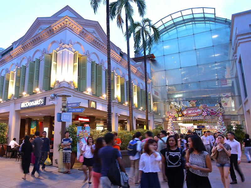 Брас Басах Бугис - это район сосредоточения основных учреждений культуры в Сингапуре