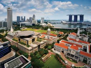Гражданский район в Сингапуре