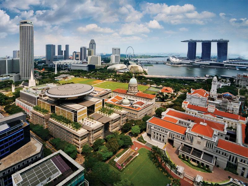 В Гражданском районе зародилось основное архитектурное и культурное наследие Сингапура