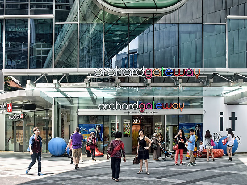 Торговый центр Orchard Gateway