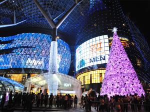 Рождество на Большой улице в Сингапуре