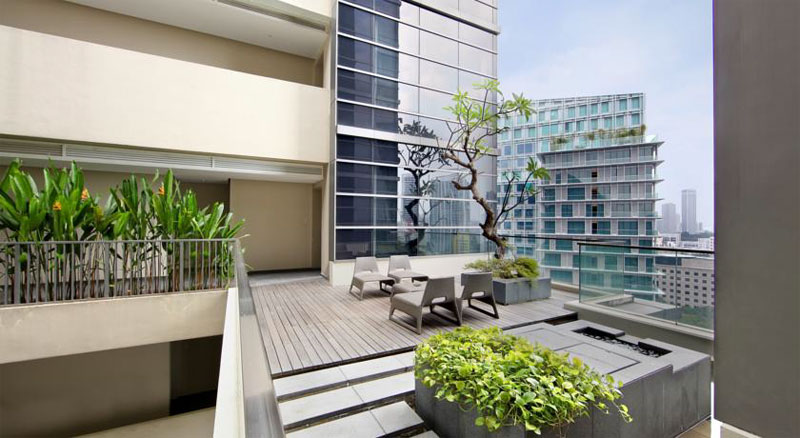 Отель Pan Pacific Serviced Suites Orchard Singapore