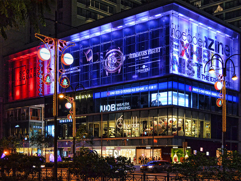 Торговый центр Scotts Square