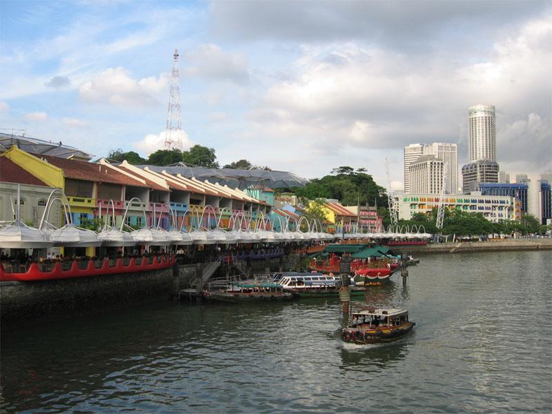 Набережные реки Сингапур