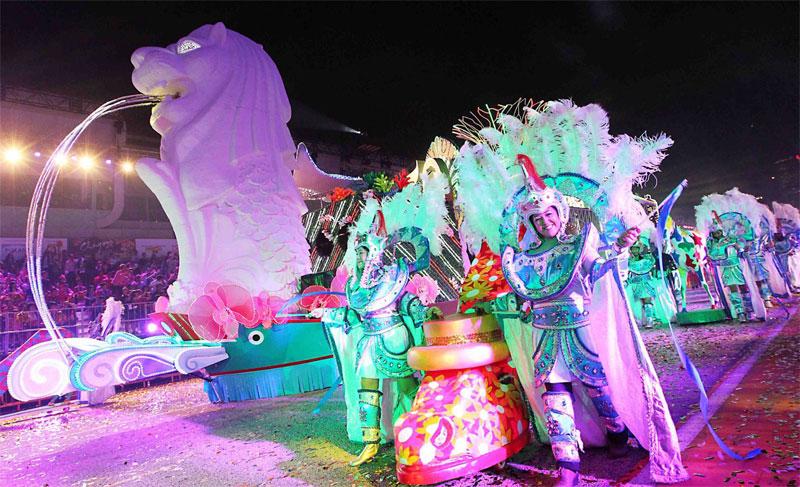 Парад Чингай в Сингапуре