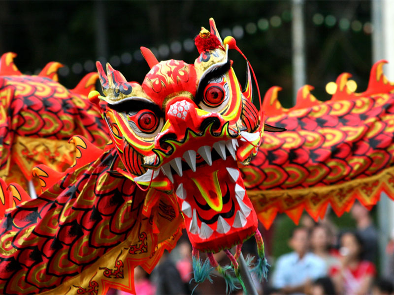 Происхождение китайских новогодних обычаев связано с победой над чудовищем Нянь