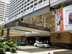 Торговая галерея The Shopping Gallery Hilton Singapore