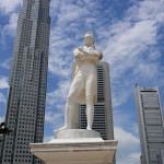 Статуя Стэмфорда Раффлза
