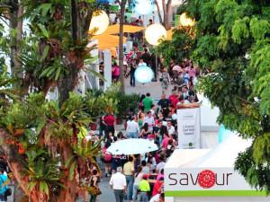 Кулинарный фестиваль Savour в Сингапуре