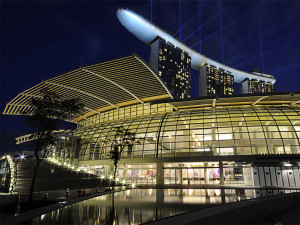 Торговый центр The Shoppes at Marina Bay Sands