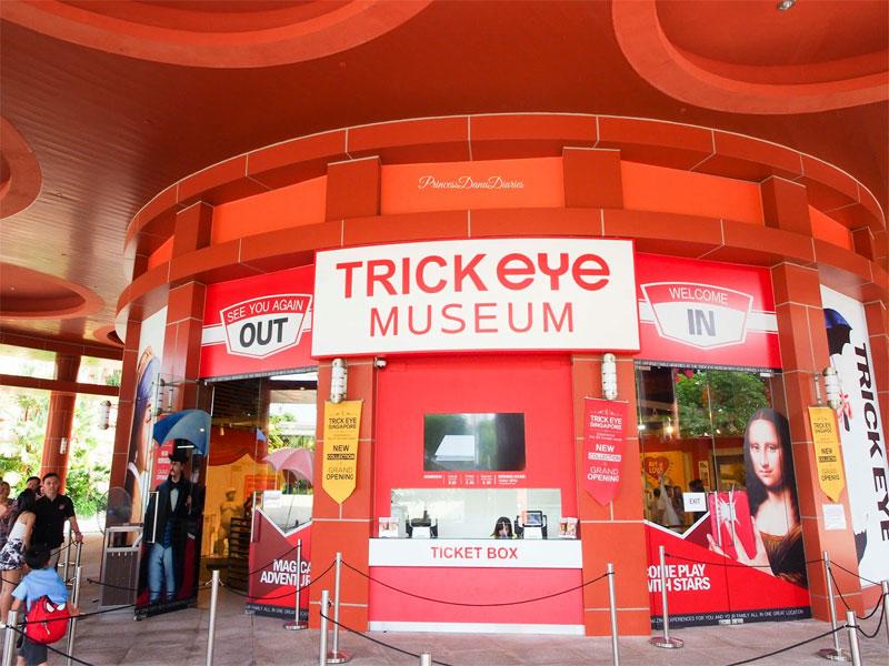 Музей оптических иллюзий в Сингапуре