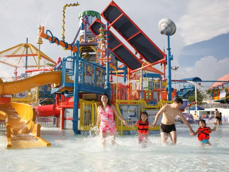 Аквапарк Wild Wild Wet способен принести хорошие эмоции всей семье