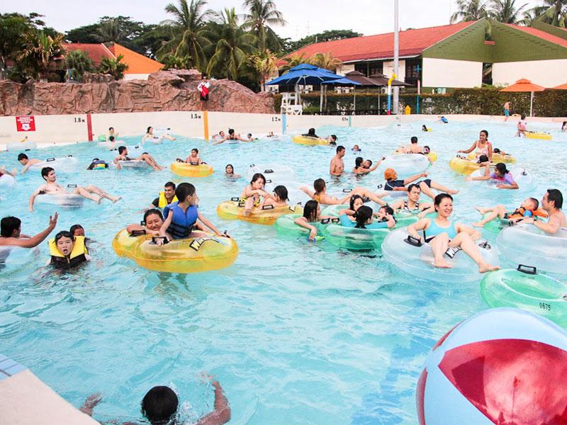 Аквапарк Wild Wild Wet в Сингапуре
