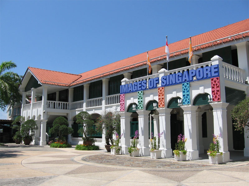 Музей «Образы Сингапура» занимает помещение бывшего военного госпиталя Sick Quarters