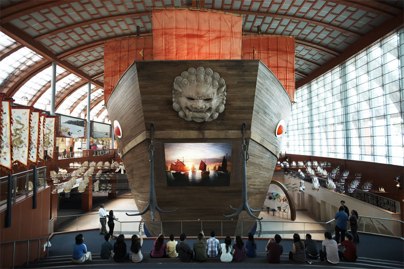 Морской практический музей в Сингапуре