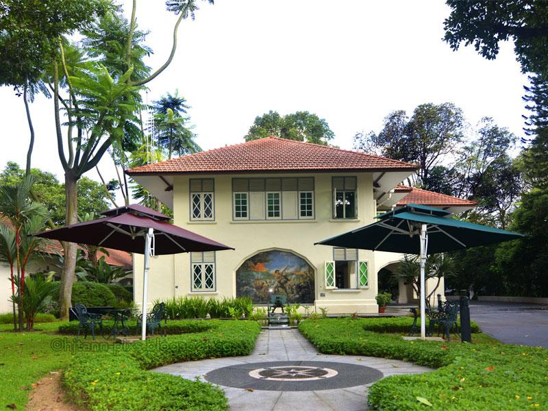 Музей Букит Чанду находится в бывшем бунгало британских офицеров колониальной армии