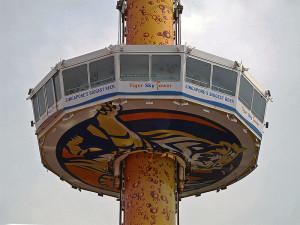 Смотровая башня Tiger Sky Tower на острове Сентоза