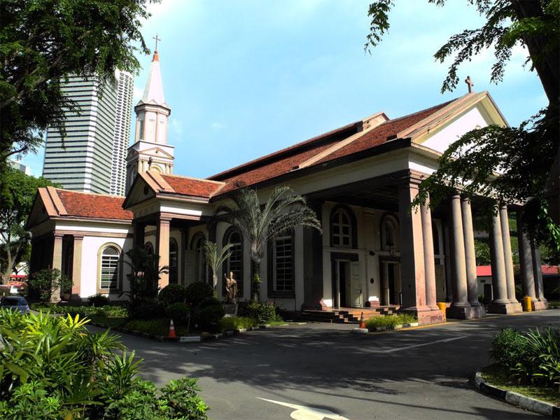 В Соборе Доброго Пастыря расположена сингапурская резиденция римского архиепископа